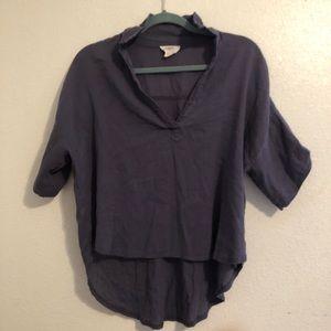Blue loft shirt